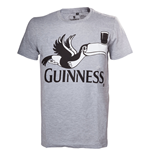 T-Shirt Guinness Grey Melange Toucan