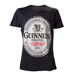 T-Shirt Guinness - In schwarz