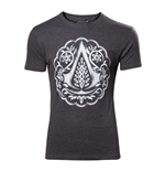 T-Shirt Assassins Creed  Movie - Florel Crest Logo