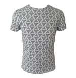 T-Shirt Assassins Creed - All Over Printed Abstergo Logo
