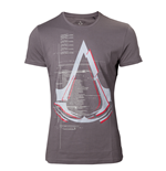 T-Shirt Assassins Creed  - Dark grey Logo