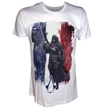 T-Shirt Assassins Creed  Unity - French  Flag with Arno