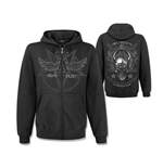 Sweatshirt Alchemy  - Satan's Shield Zip