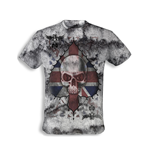 "T-Shirt Alchemy  - Vintage ""Ace of England Skull"""