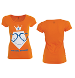 T-Shirt KNVB - Voetbal Prinses
