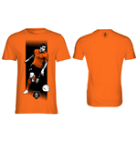 T-Shirt KNVB - Van der Wiel in orange