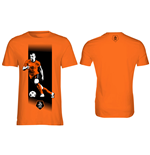 T-Shirt KNVB - Van Der Vaart in orange