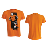 T-Shirt KNVB - Sneijder. In orange.