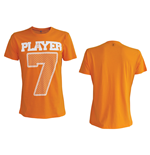 T-Shirt KNVB - Player 7. in orange