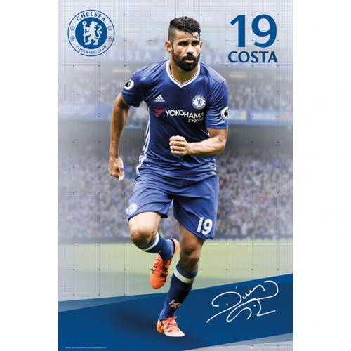 Poster Chelsea Diego Costa 19