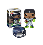 NFL POP! Football Vinyl Figur Marshawn Lynch (Seattle Seahawks) 9 cm