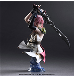 Final Fantasy XIII Static Arts Büste Lightning 17 cm