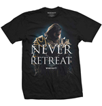 World of Warcraft T-Shirt für Männer - Design: Never Retreat