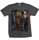 World of Warcraft T-Shirt für Männer - Design: Character Slice