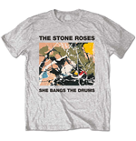 T-Shirt Stone Roses  She Bangs the Drums