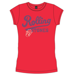 The Rolling Stones T-Shirt für Frauen - Design: Team Logo