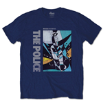 T-Shirt The Police: Message in a Bottle - Mann