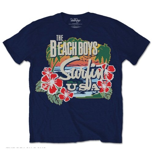 T-Shirt The Beach Boys Surf in USA Tropical