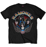 T-Shirt Ramones Vintage Wings Photo