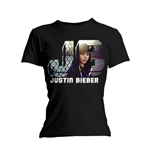 T-Shirt Justin Bieber Photo Black