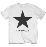 David Bowie  T-Shirt für Männer - Design: Blackstar (on White)