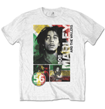 T-Shirt Bob Marley 56 Hope Road Rasta