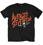 T-Shirt Avenged Sevenfold Orange Splatter