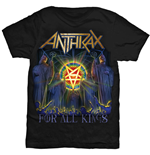 Anthrax T-Shirt für Männer - Design: For All Kings Cover