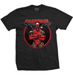 T-Shirt Deadpool Crossed Arms
