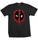 T-Shirt Deadpool Splat Icon