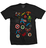 T-Shirt Marvel Superheroes 241647