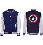 Jacke The Avengers assemble - distressed Shield