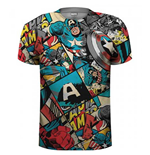 T-Shirt Captain America  241652