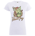 Bombshell T-Shirt für Frauen - Design: Justice League Bombshell Poison Ivy Badge