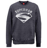 Sweatshirt Superman Logo Spray