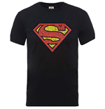 T-Shirt Superman Originals Shield Crackle Logo