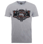 Superman T-Shirt für Männer - Design: Batman v Superman Gothic Logo