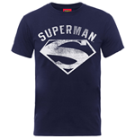 T-Shirt DC Comics: Superman Logo Spray - Männer