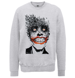 Batman Sweatshirt für Männer - Design: Batman Joker Face of Bats