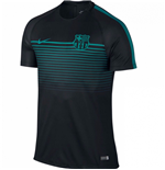 T-Shirt Barcelona 2016-2017 Nike Training Shirt (Black-Energy)