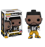 NFL POP! Football Vinyl Figur Antonio Brown (Steelers) 9 cm