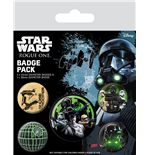 Star Wars Rogue One Ansteck-Buttons 5er-Pack Empire