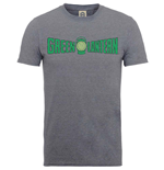 Superhelden DC Comics T-Shirt für Männer - Design: Originals Green Lantern Crackle Logo