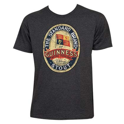 T-Shirt Guinness Emblem Stout