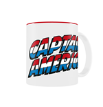 Marvel Comics Tasse Captain America Logo