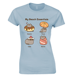T-Shirt Pusheen Beach Essentials