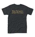 T-Shirt Bruce Springsteen - Black Motorcycle Guitars