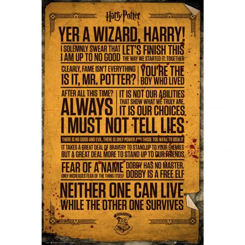 Poster Harry Potter Quotes 263