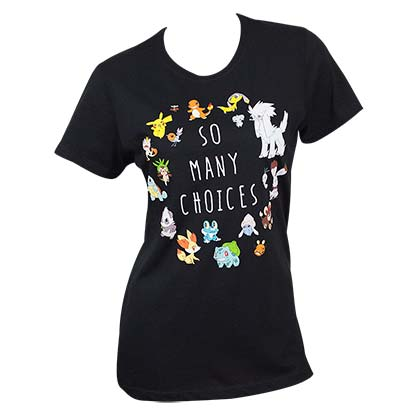 T-Shirt Pokémon Choices Frauen