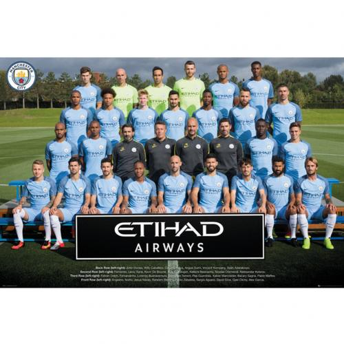 Poster Manchester City FC 242443